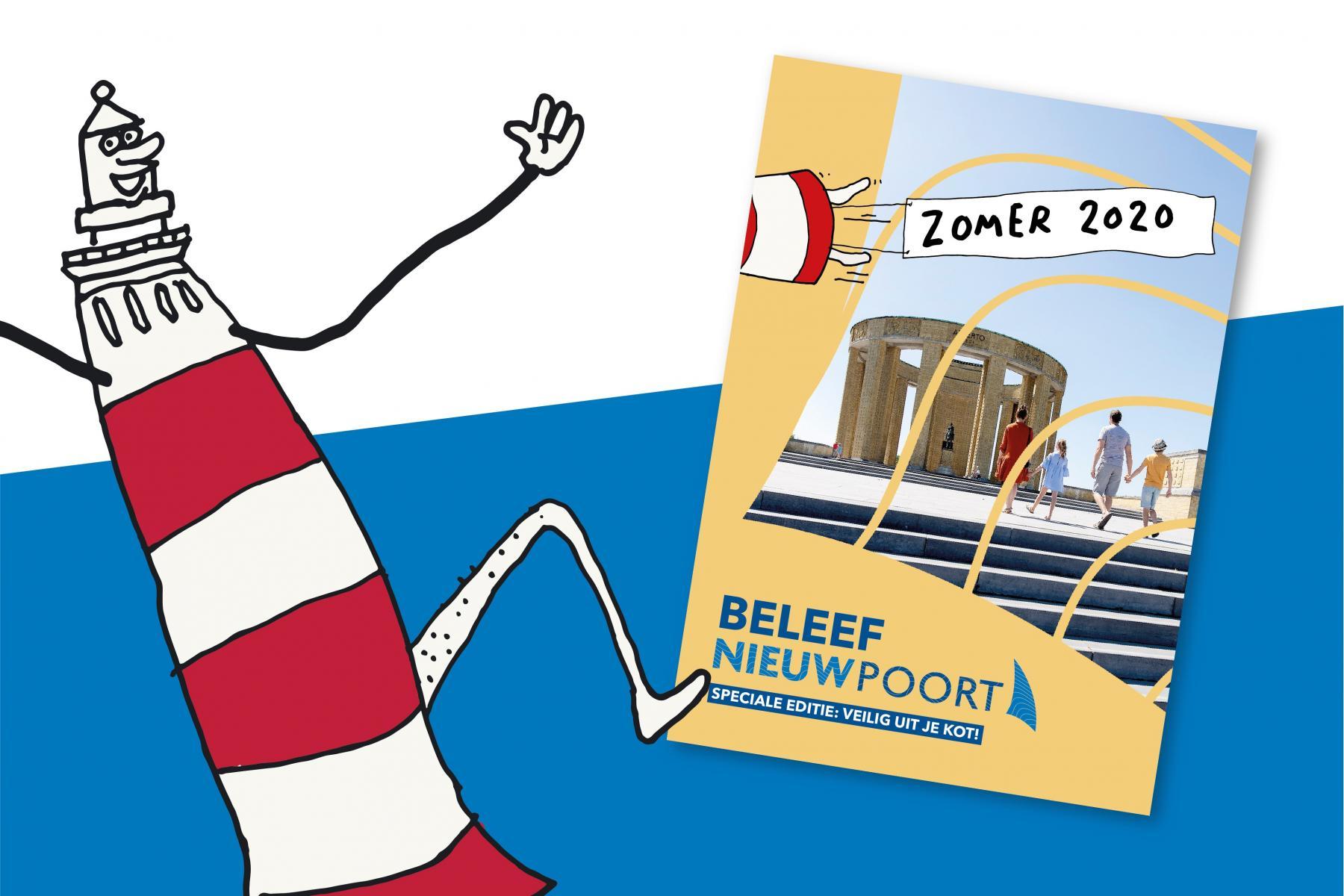 Visit Nieuwpoort - Beleef Nieuwpoort - Speciale editie: veilig uit je kot!
