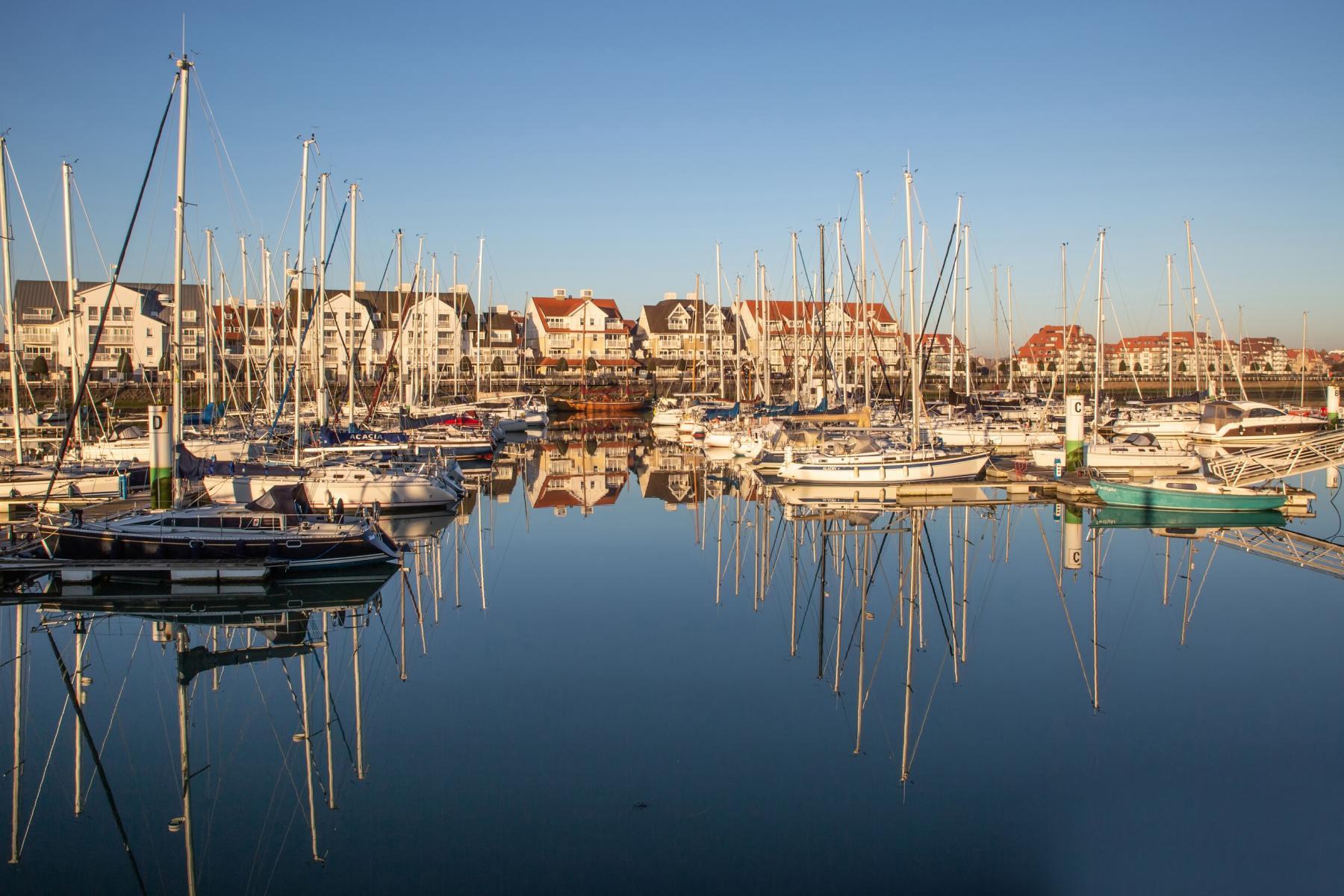 Visit Nieuwpoort Der Jachthafen