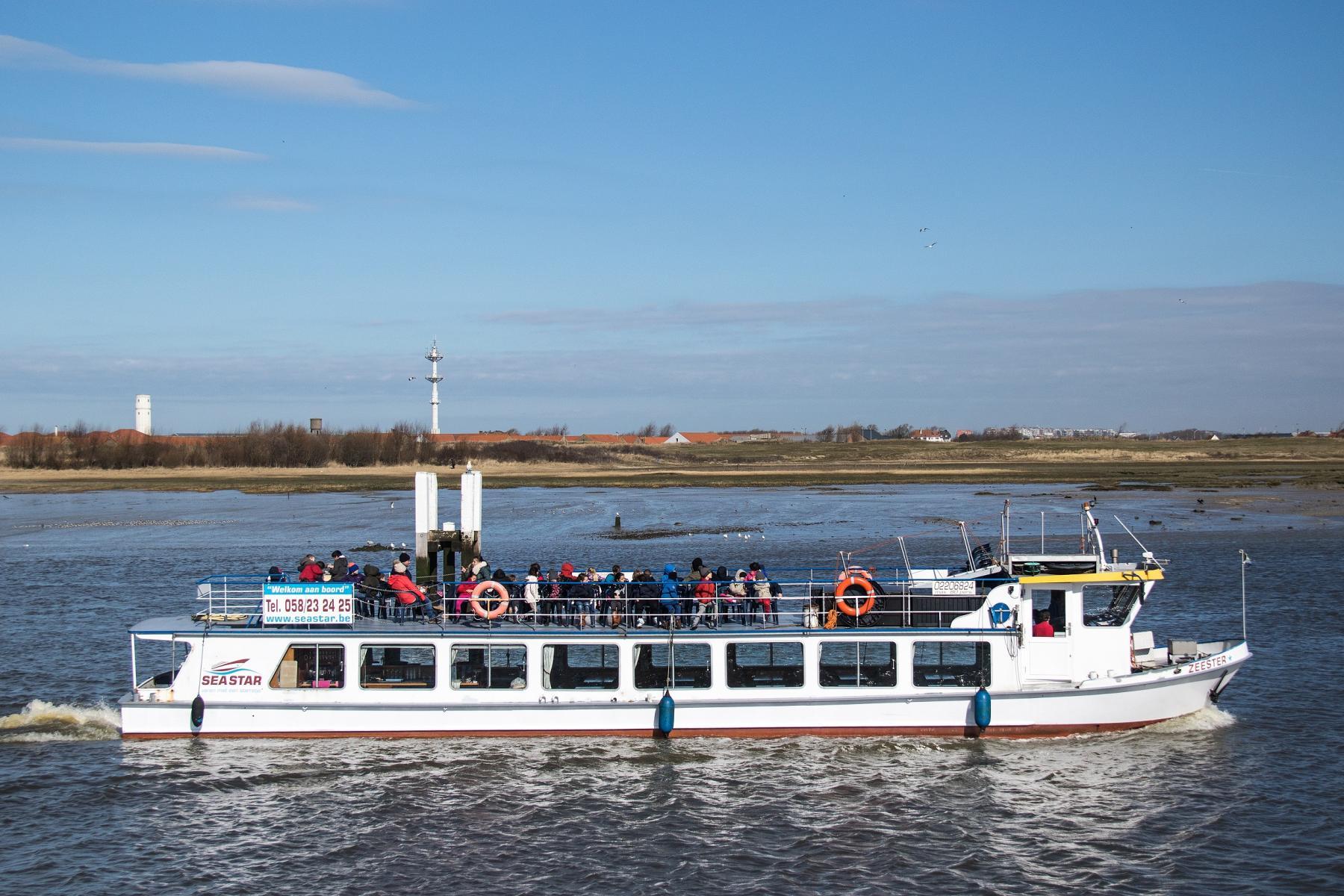 Visit Nieuwpoort Waterbeleving rederij Seastar