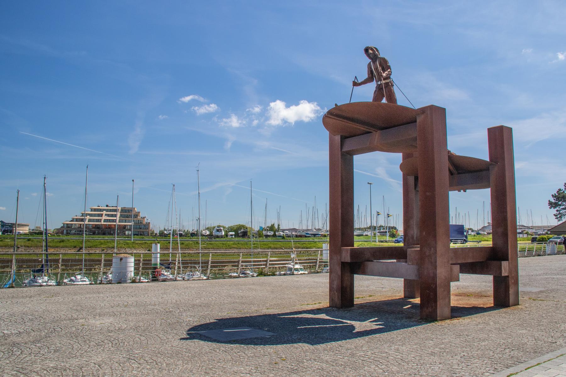 Visit Nieuwpoort Le voyageur du Pôle - Freddy Cappon