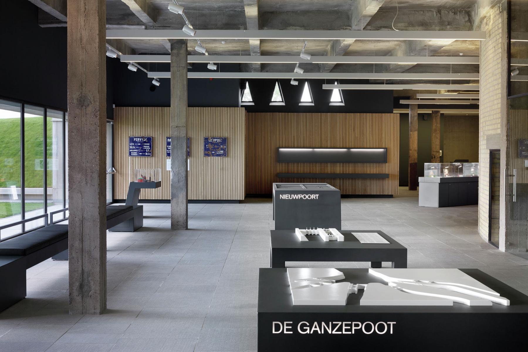 VisitNieuwpoort Bezoekerscentrum Westfront Nieuwpoort