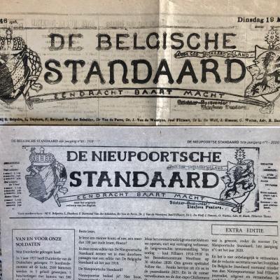 Visit Nieuwpoort - De Nieupoortsche Standaard