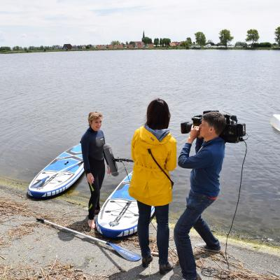 Visit-Nieuwpoort zomers programma Nieuwpoort aan Boord Focus WTV aflevering 2 met Mieke Dobbels