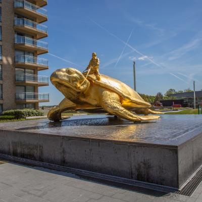 Visit-Nieuwpoort Searching for Utopia - Sea turtle by the hand of Jan Fabre