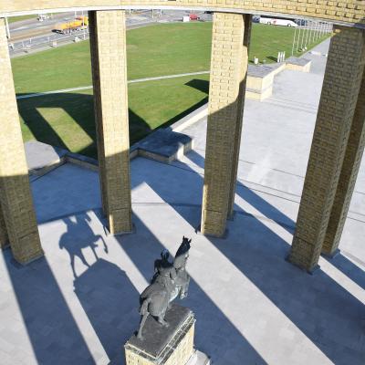 Visit-Nieuwpoort Bezoekerscentrum Westfront Nieuwpoort koning Albert I monument