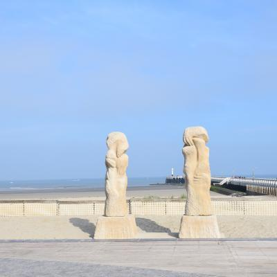 Visit Nieuwpoort The reconcilition by Willem Vermandere