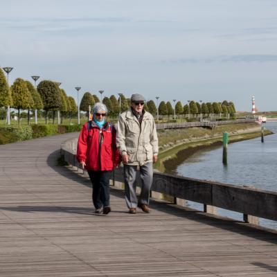 Visit Nieuwpoort Kuieren op de wandelpromenade