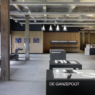 VisitNieuwpoort Besucherzentrum Westfront Nieuwpoort